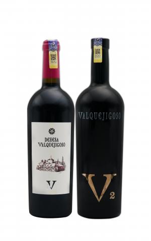 Valquejigoso Dehesa 2013 & V2 Tinto 2009